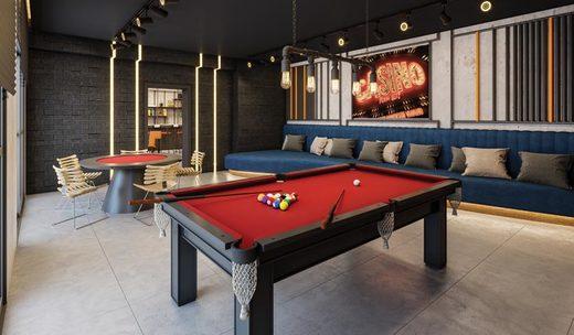 Sala de jogos - Studio à venda Avenida Santo Amaro,Brooklin, São Paulo - R$ 509.420 - II-6906-15603 - 25