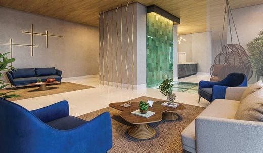 Hall - Studio à venda Avenida Santo Amaro,Brooklin, São Paulo - R$ 509.420 - II-6906-15603 - 7