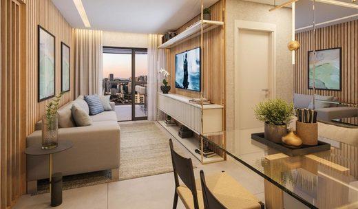 Living - Studio à venda Avenida Santo Amaro,Brooklin, São Paulo - R$ 509.420 - II-6906-15603 - 12