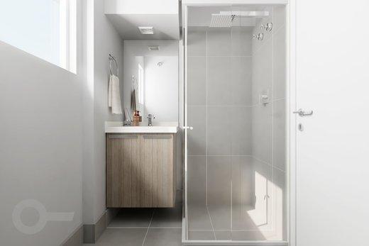 Banheiro - Apartamento à venda Rua Tupi,Santa Cecília, São Paulo - R$ 479.000 - II-6922-15624 - 3