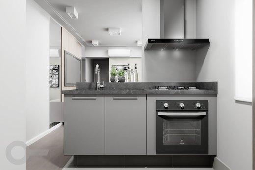 Cozinha - Apartamento à venda Rua Tupi,Santa Cecília, São Paulo - R$ 479.000 - II-6922-15624 - 5