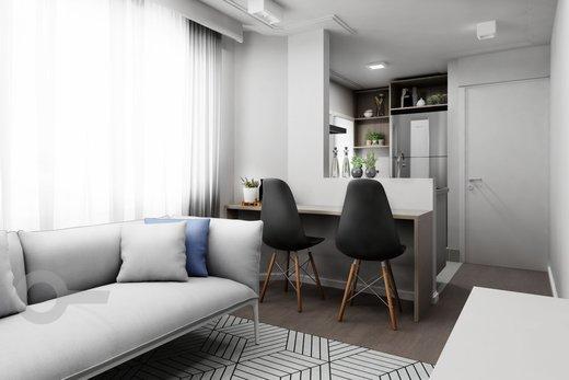 Living - Apartamento à venda Rua Tupi,Santa Cecília, São Paulo - R$ 479.000 - II-6922-15624 - 7