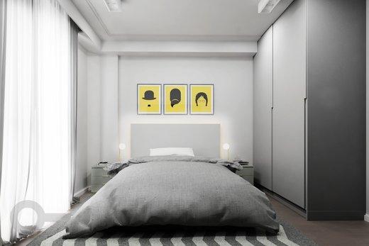 Quarto principal - Apartamento à venda Rua Tupi,Santa Cecília, São Paulo - R$ 479.000 - II-6922-15624 - 8