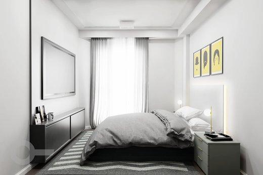 Quarto principal - Apartamento à venda Rua Tupi,Santa Cecília, São Paulo - R$ 479.000 - II-6922-15624 - 9