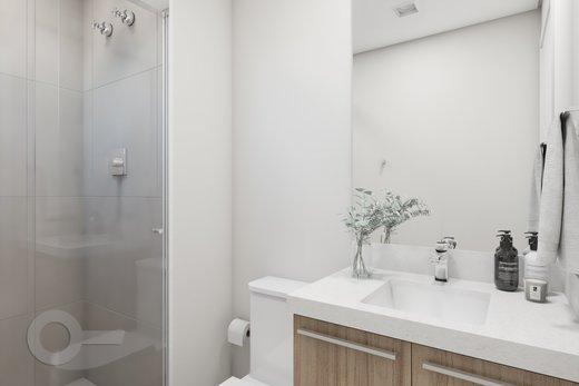 Banheiro - Apartamento 2 quartos à venda Lapa, São Paulo - R$ 689.000 - II-6923-15625 - 3