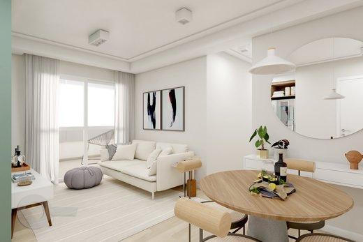 Living - Apartamento 2 quartos à venda Lapa, São Paulo - R$ 689.000 - II-6923-15625 - 5
