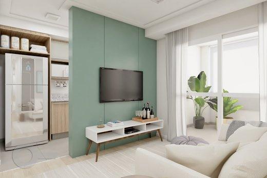 Living - Apartamento 2 quartos à venda Lapa, São Paulo - R$ 689.000 - II-6923-15625 - 7