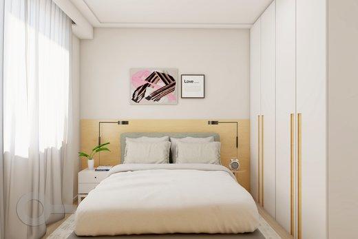Quarto principal - Apartamento 2 quartos à venda Lapa, São Paulo - R$ 689.000 - II-6923-15625 - 9