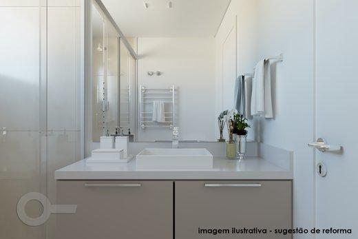 Banheiro - Apartamento à venda Rua Doutor José Elias,Alto da Lapa, Zona Oeste,São Paulo - R$ 1.350.000 - II-6925-15627 - 3