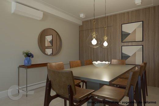 Living - Apartamento à venda Rua Doutor José Elias,Alto da Lapa, Zona Oeste,São Paulo - R$ 1.350.000 - II-6925-15627 - 5