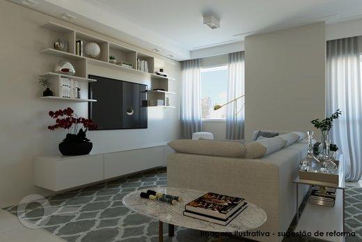 Living - Apartamento à venda Rua Doutor José Elias,Alto da Lapa, Zona Oeste,São Paulo - R$ 1.350.000 - II-6925-15627 - 6