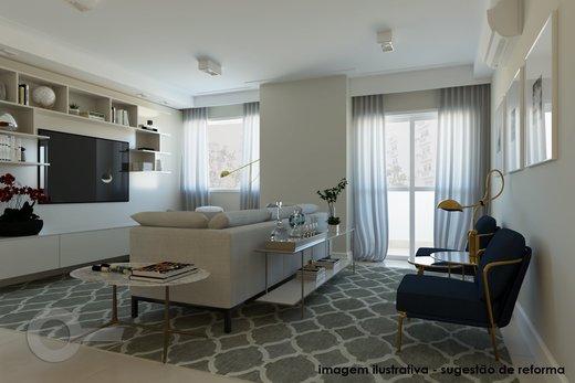 Living - Apartamento à venda Rua Doutor José Elias,Alto da Lapa, Zona Oeste,São Paulo - R$ 1.350.000 - II-6925-15627 - 7