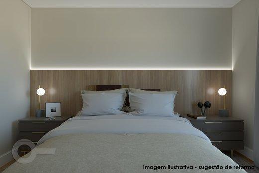 Quarto principal - Apartamento à venda Rua Doutor José Elias,Alto da Lapa, Zona Oeste,São Paulo - R$ 1.350.000 - II-6925-15627 - 8