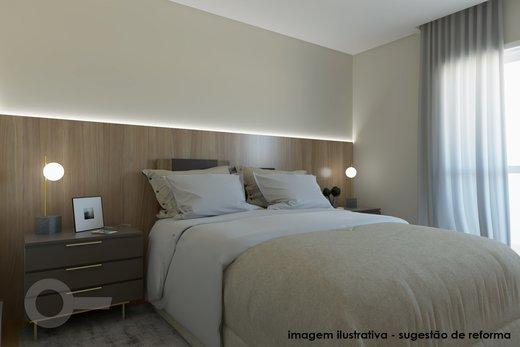 Quarto principal - Apartamento à venda Rua Doutor José Elias,Alto da Lapa, Zona Oeste,São Paulo - R$ 1.350.000 - II-6925-15627 - 9