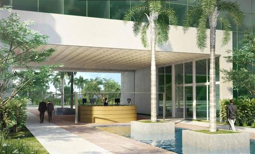 Hall - Fachada - O2 Corporate Offices - Lojas - 162 - 3