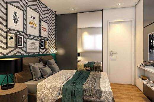 Dormitorio - Fachada - Residencial Astória - 687 - 4