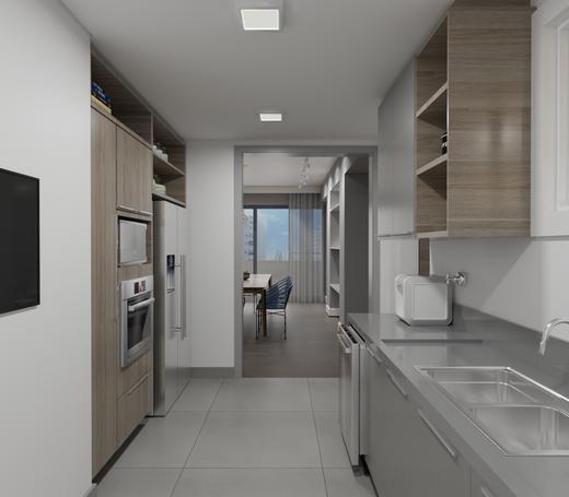 Cozinha - Apartamento à venda Alameda Franca,Jardim América, São Paulo - R$ 3.230.000 - II-4777-12061 - 12