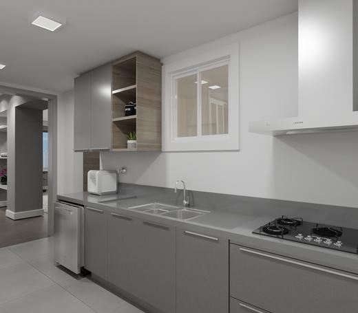 Cozinha - Apartamento à venda Alameda Franca,Jardim América, São Paulo - R$ 3.230.000 - II-4777-12061 - 13