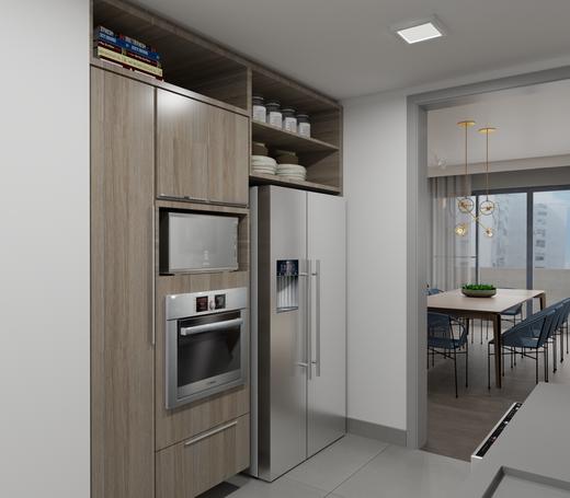 Cozinha - Apartamento à venda Alameda Franca,Jardim América, São Paulo - R$ 3.230.000 - II-4777-12061 - 14