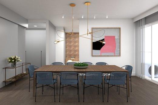 Living - Apartamento à venda Alameda Franca,Jardim América, São Paulo - R$ 3.230.000 - II-4777-12061 - 8