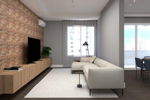 Living - Apartamento à venda Alameda Franca,Jardim América, São Paulo - R$ 3.230.000 - II-4777-12061 - 10