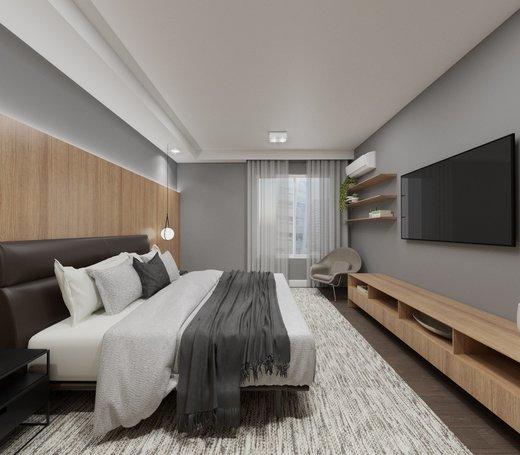 Quarto principal - Apartamento à venda Alameda Franca,Jardim América, São Paulo - R$ 3.230.000 - II-4777-12061 - 11