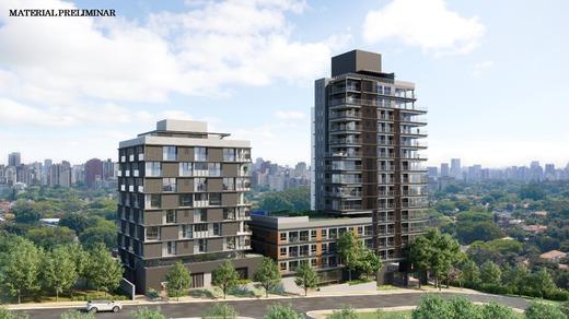 Fachada - Apartamento 4 quartos à venda Vila Madalena, São Paulo - R$ 2.569.760 - II-7060-15807 - 1