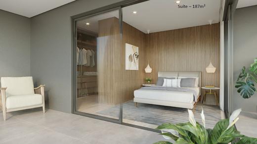 Dormitorio - Apartamento 4 quartos à venda Vila Madalena, São Paulo - R$ 2.569.760 - II-7060-15807 - 9