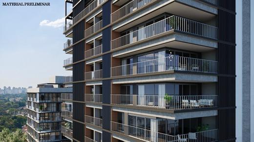 Voo de passaro - Apartamento 4 quartos à venda Vila Madalena, São Paulo - R$ 2.569.760 - II-7060-15807 - 19