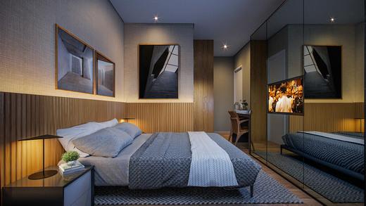 Dormitorio - Fachada - Exclusive Tatuapé - 215 - 5