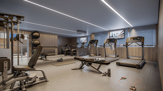 Fitness - Fachada - Exclusive Tatuapé - 215 - 6