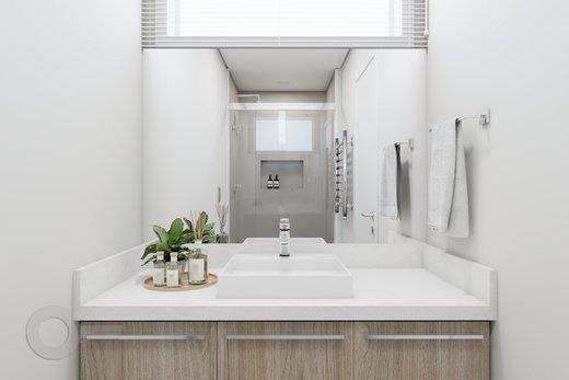 Banheiro - Apartamento à venda Rua Doutor José Rodrigues Alves Sobrinho,Alto de Pinheiros, Zona Oeste,São Paulo - R$ 2.235.000 - II-7101-15879 - 3