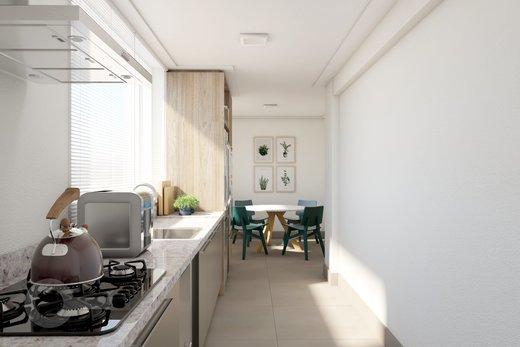 Cozinha - Apartamento à venda Rua Doutor José Rodrigues Alves Sobrinho,Alto de Pinheiros, Zona Oeste,São Paulo - R$ 2.235.000 - II-7101-15879 - 4