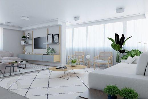 Living - Apartamento à venda Rua Doutor José Rodrigues Alves Sobrinho,Alto de Pinheiros, Zona Oeste,São Paulo - R$ 2.235.000 - II-7101-15879 - 5