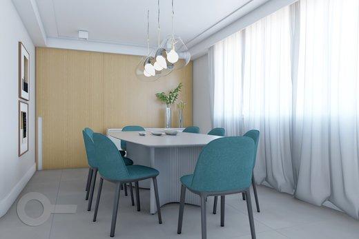 Living - Apartamento à venda Rua Doutor José Rodrigues Alves Sobrinho,Alto de Pinheiros, Zona Oeste,São Paulo - R$ 2.235.000 - II-7101-15879 - 6