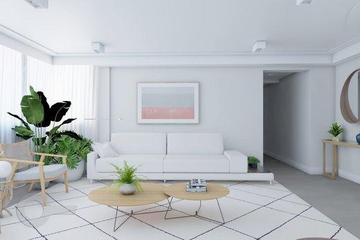 Living - Apartamento à venda Rua Doutor José Rodrigues Alves Sobrinho,Alto de Pinheiros, Zona Oeste,São Paulo - R$ 2.235.000 - II-7101-15879 - 8
