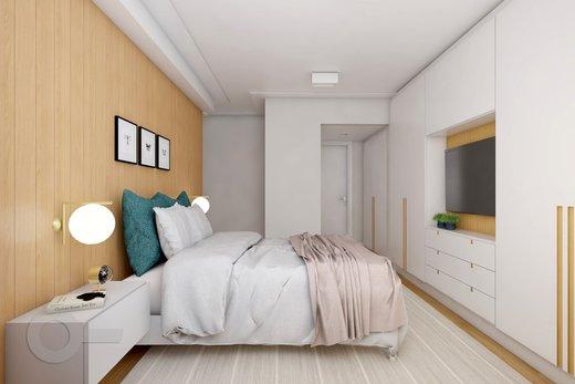 Quarto principal - Apartamento à venda Rua Doutor José Rodrigues Alves Sobrinho,Alto de Pinheiros, Zona Oeste,São Paulo - R$ 2.235.000 - II-7101-15879 - 9