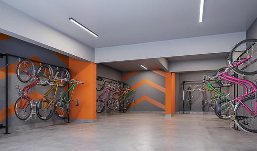 Bicicletario - Fachada - Club Station Vila Prudente - 691 - 16