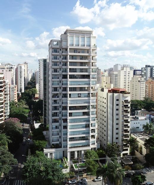 Fachada - Apartamento à venda Avenida Açocê,Moema, São Paulo - R$ 8.500.000 - II-1413-5441 - 1