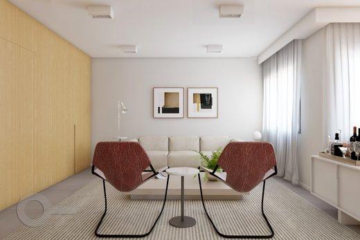 Living - Apartamento à venda Rua Brentano,Vila Leopoldina, São Paulo - R$ 1.302.000 - II-7173-15984 - 6