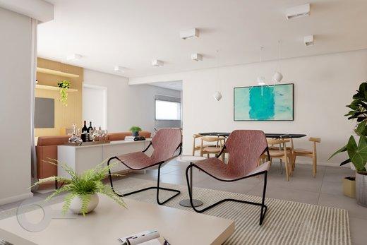 Living - Apartamento à venda Rua Brentano,Vila Leopoldina, São Paulo - R$ 1.302.000 - II-7173-15984 - 7