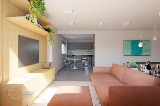 Living - Apartamento à venda Rua Brentano,Vila Leopoldina, São Paulo - R$ 1.302.000 - II-7173-15984 - 8