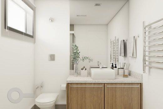 Banheiro - Apartamento à venda Rua Brentano,Vila Leopoldina, São Paulo - R$ 1.370.000 - II-7178-15989 - 8