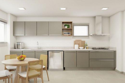 Cozinha - Apartamento à venda Rua Brentano,Vila Leopoldina, São Paulo - R$ 1.370.000 - II-7178-15989 - 9