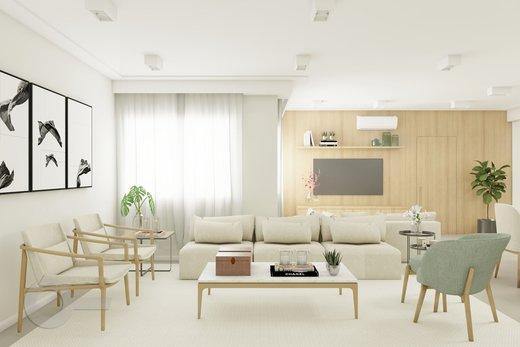 Living - Apartamento à venda Rua Brentano,Vila Leopoldina, São Paulo - R$ 1.370.000 - II-7178-15989 - 1