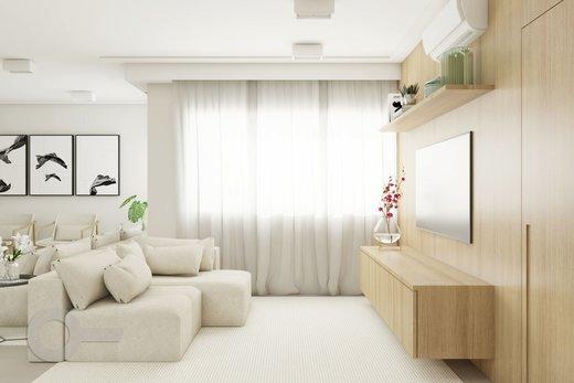 Living - Apartamento à venda Rua Brentano,Vila Leopoldina, São Paulo - R$ 1.370.000 - II-7178-15989 - 3