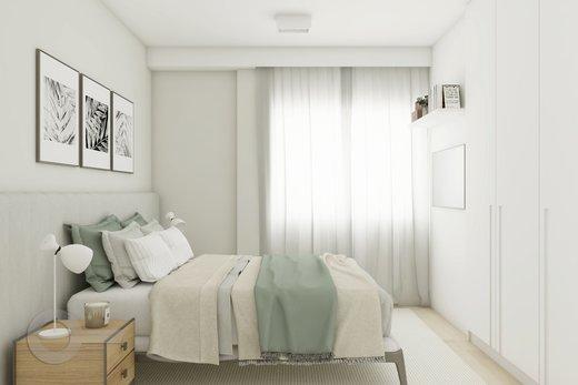 Quarto principal - Apartamento à venda Rua Brentano,Vila Leopoldina, São Paulo - R$ 1.370.000 - II-7178-15989 - 6