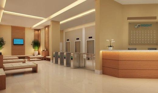 Portaria - Fachada - Insight Office - Lojas - 166 - 5