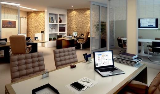 Exemplo sala - Sala Comercial 62m² à venda Centro, Niterói - R$ 299.831 - II-7197-16020 - 5