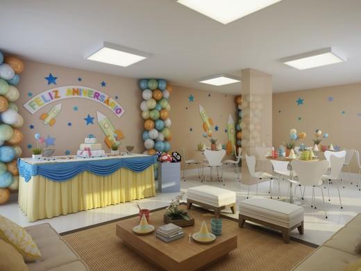 Salao de festas - Fachada - Evidence - 207 - 6